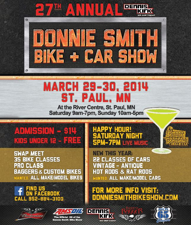 2011 Donnie Smith  Bike Show